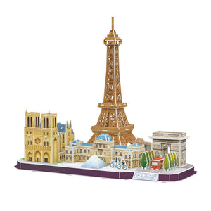 CubicFun City Line Paris 114pcs<br>(Shipped in 10-14 days)