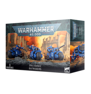 SPACE MARINES OUTRIDERS<br>(Shipped in 14-28 days)