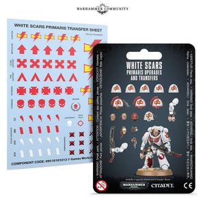 White Scars Primaris Upgrades and Transfers