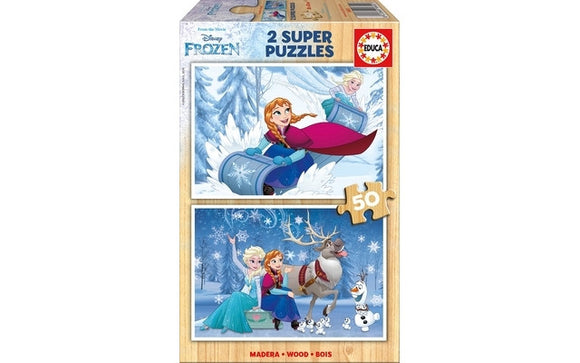 Educa Frozen (2x50pc)<br>(Shipped in 10-14 days)
