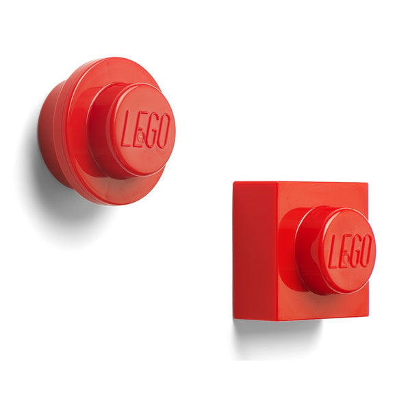 LEGO Room LEGO Magnet Set - Red<br>(Shipped in 10-14 days)