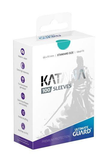 Ultimate Guard Katana Sleeves Standard Size Turquoise (100)