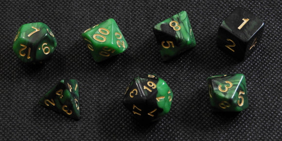 Dice: Blend Green+Black