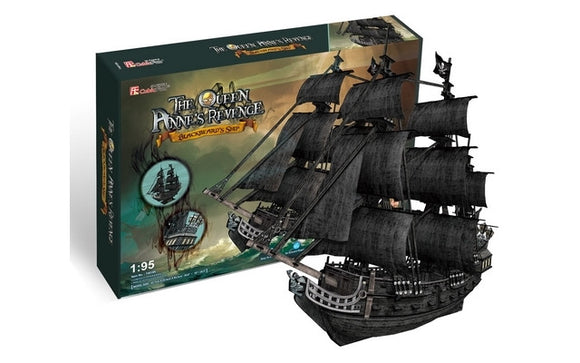 CubicFun Queen Anne's Revenge (Large) 308pcs<br>(Shipped in 10-14 days)