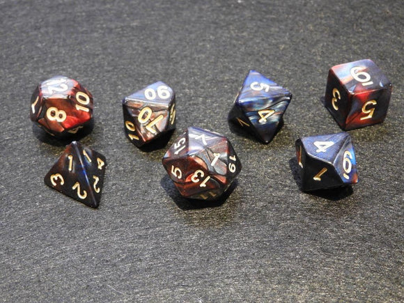 Dice: Blend Red+blue