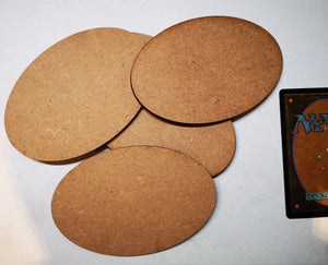 MDF Bases Oval 5x105x70mm