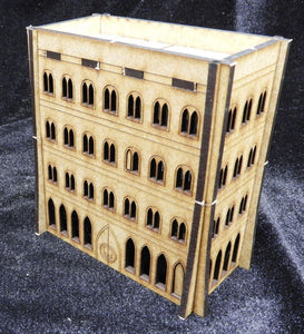 8mm Scifi Scenery - Large Building