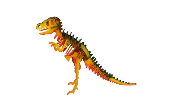 Robotime 3D Wooden Puzzle with Paints - T-Rex<br>(Shipped in 10-14 days)