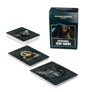DATACARDS: IRON HANDS (ENGLISH)<br>(Shipped in 14-28 days)
