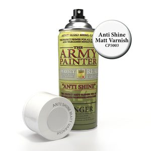 Army Painter Base Primer Anti-Shine Matte Varnish