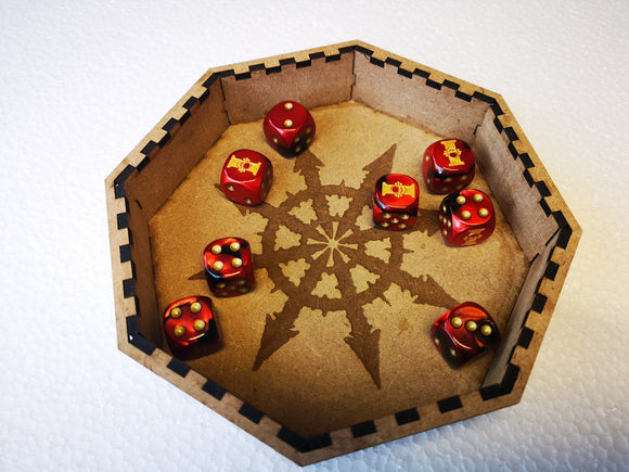 Dice Tray Small - Chaos