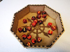 Dice Tray Large - Chaos