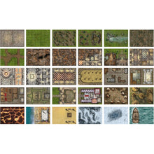 Load image into Gallery viewer, Giant Book of Battle Mats Vol 2