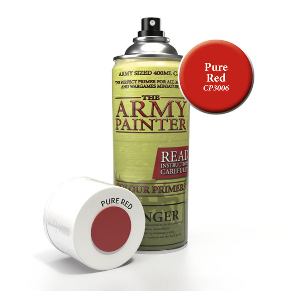 Army Painter Primer - Pure Red