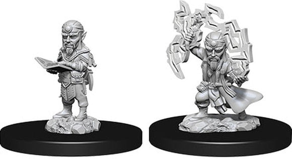 Pathfinder Deep Cuts - Male Gnome Sorcerer