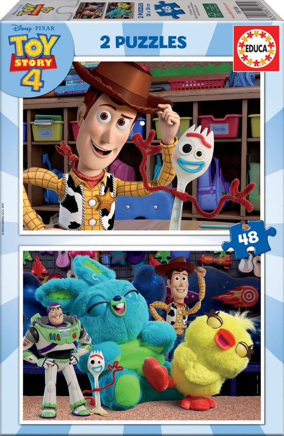 Educa Toy Story 4 (2x48pc)<br>(Shipped in 10-14 days)