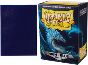 Night Blue Matt Sleeves Dragon Shield
