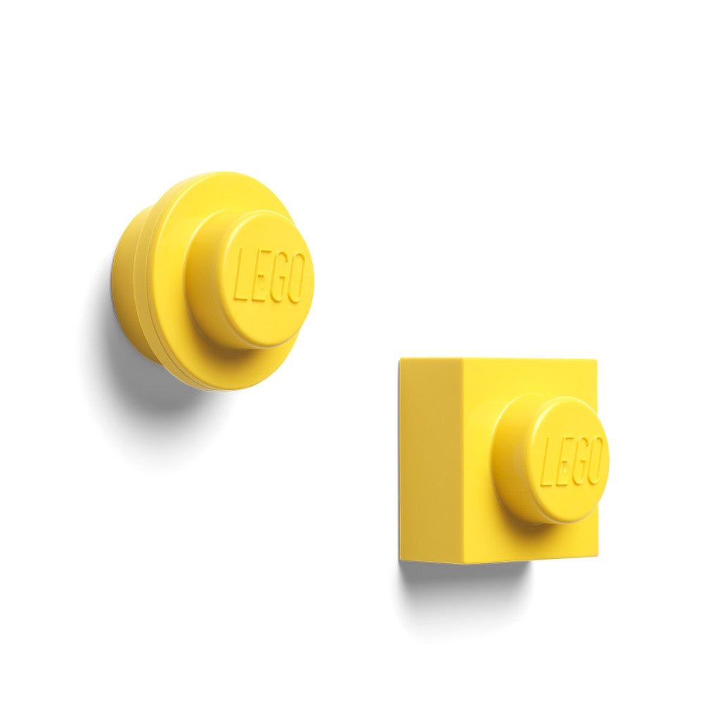 LEGO Room LEGO Magnet Set - Yellow<br>(Shipped in 10-14 days)