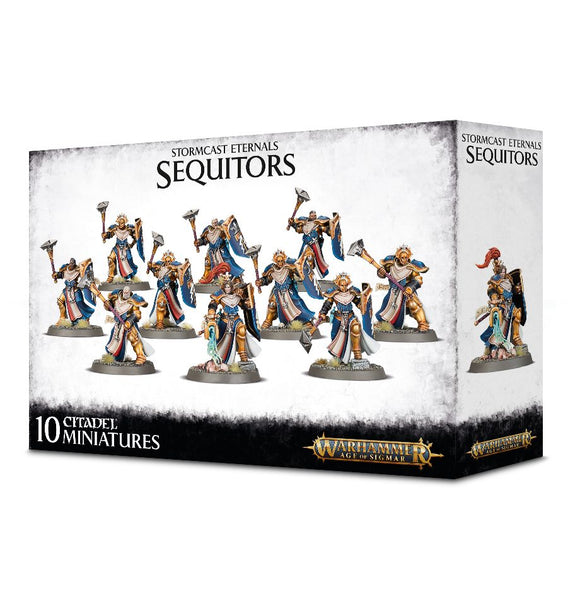 STORMCAST ETERNALS SEQUITORS<br>(Shipped in 14-28 days)