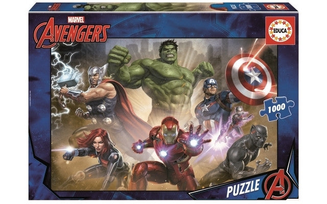 Educa The Avengers (1x1000pc)<br>(Shipped in 10-14 days)