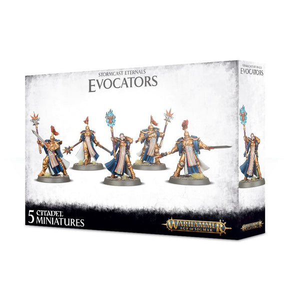 STORMCAST ETERNALS EVOCATORS<br>(Shipped in 14-28 days)