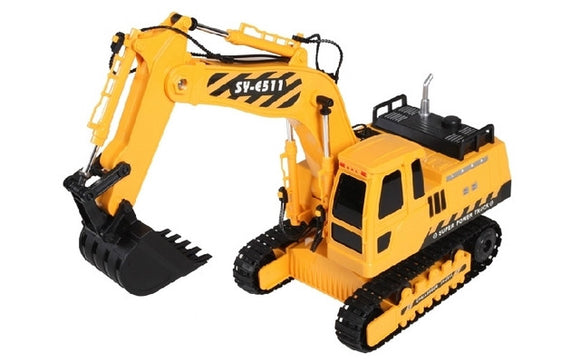 Double Eagle 1/20 R/C Excavator w/Battery & USB Charger<br>(Shipped in 10-14 days)