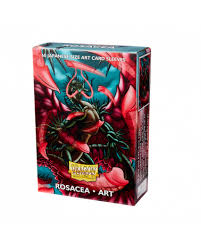 Rosacea Matte Japanese Sleeves Dragon Shield