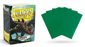 Green Matt Dragon Shield Sleeves
