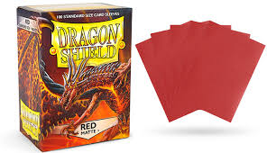 Red Matte Dragon Shield Sleeves