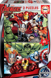 Educa Avengers (2x48pc)<br>(Shipped in 10-14 days)