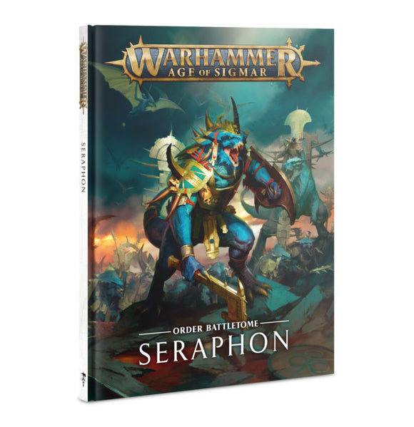 BATTLETOME: SERAPHON (HB) (ENGLISH)<br>(Shipped in 14-28 days)
