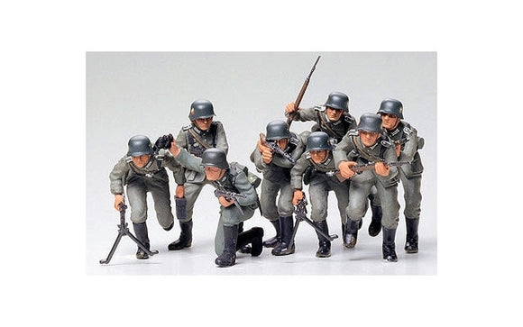 Tamiya 1/35 German Assault Troops<br>(Shipped in 10-14 days)