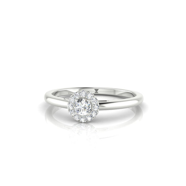 Clothilde Diamant | 3 mm Argent 925 Ronde
