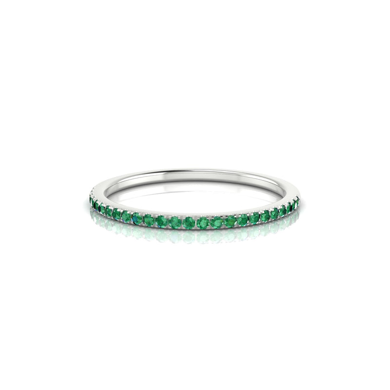 Confidence Emeraude | 1.1 mm Argent 925 Ronde