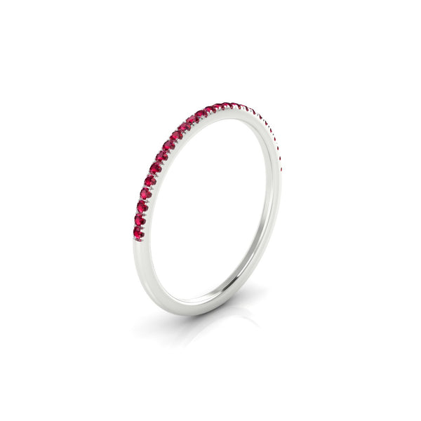 Confidence Rubis | 1.1 mm Argent 925 Ronde