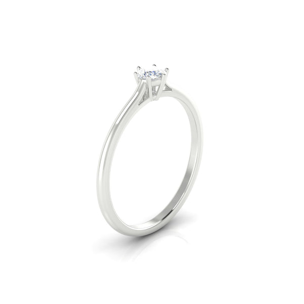 Forever Diamant | Ronde 3.7 mm Argent 925
