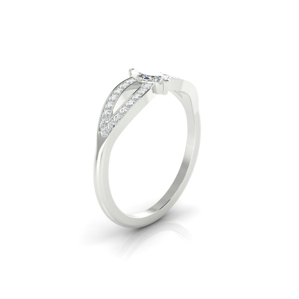 Marianne Diamant | Marquise 6 x 3 mm Argent 925