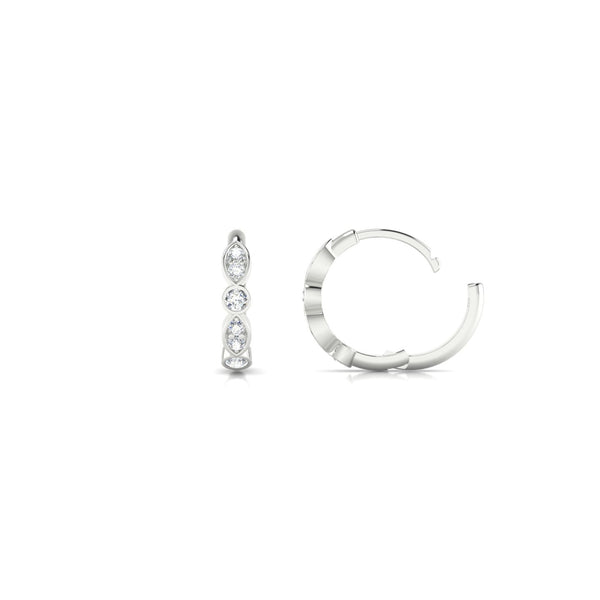Aimée Diamant | 1.5 mm Or Blanc 18k Ronde