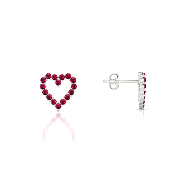 Amour Rubis | Ronde 1.3 mm Argent 925