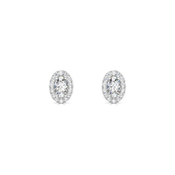 Clothilde Diamant | Ovale 5 x 3 mm Argent 925