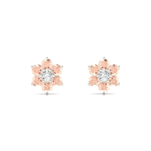 Genova Morganite | Ronde 3 mm Argent 925