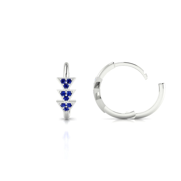 Ode Saphir | 1.1 mm Or Blanc 18k Ronde