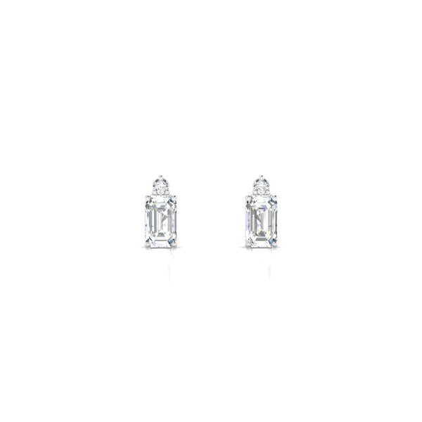 Plaisante Diamant | Emeraude 5 x 3 mm Argent 925