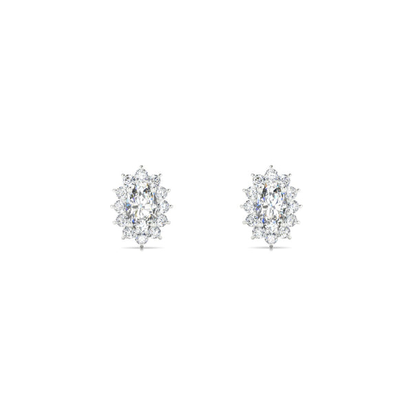 Solene Diamant | Ovale 5 x 3 mm Argent 925