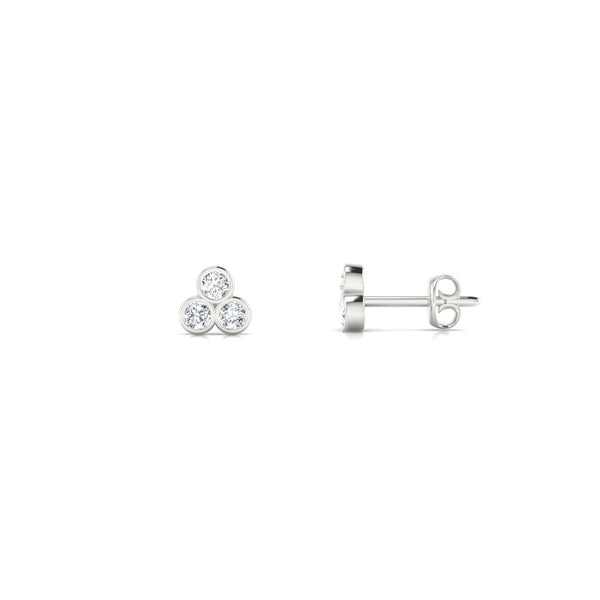Triade Diamant | Ronde 2 mm Argent 925