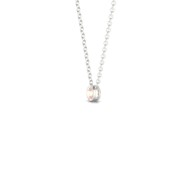 Agatha Morganite | 3 mm Argent 925 Ronde