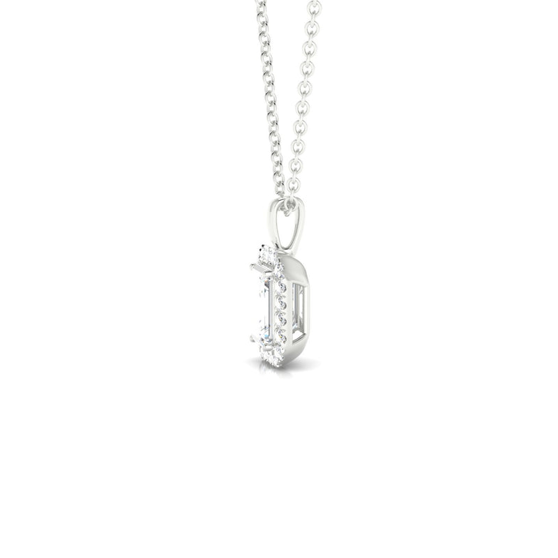 Clothilde Diamant | Emeraude 6 x 4 mm Argent 925