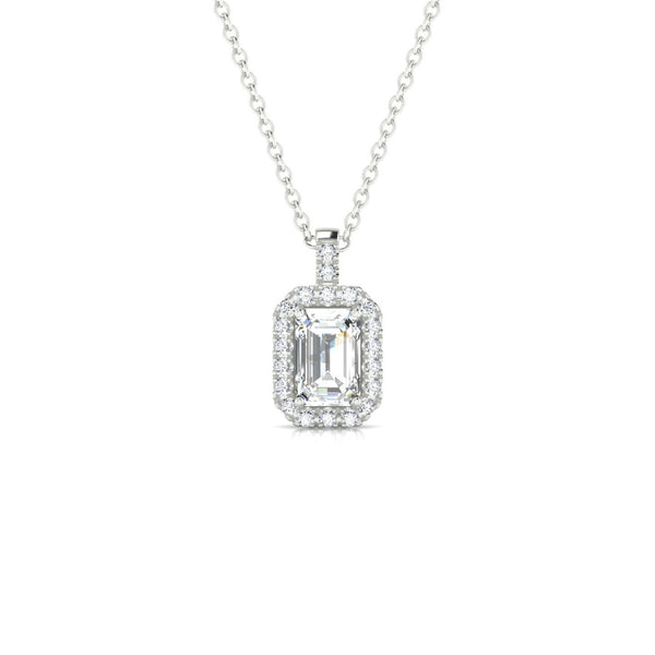 Mariette Diamant | Emeraude 6 x 4 mm Argent 925
