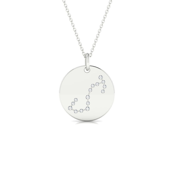 Scorpio Diamant | Ronde 1.3 mm Or Blanc 18k