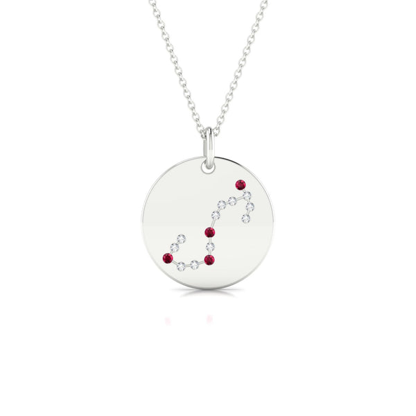 Scorpio Rubis | Ronde 1.3 mm Or Blanc 18k